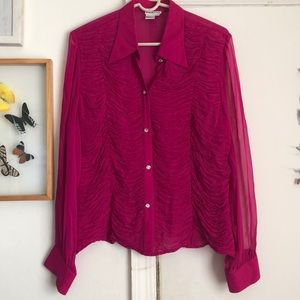 Zola Evening Button Down Blouse